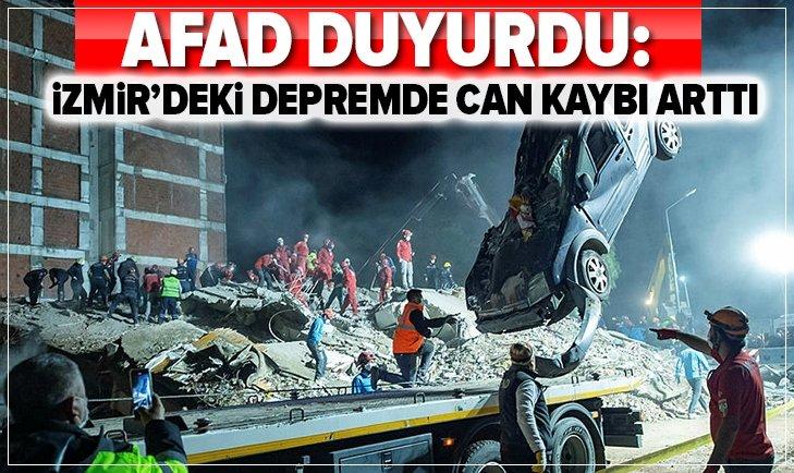 İzmir'de deprem faciası! Ölü sayısı yükseldi