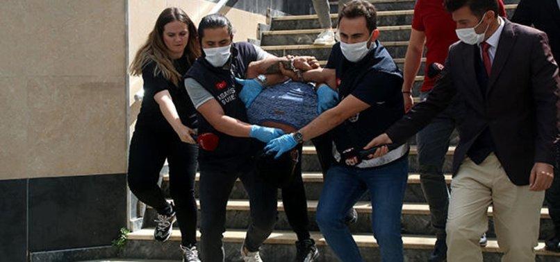 İstanbul'da polisimizi şehit eden alçaklar tutuklamaya sevk edildi