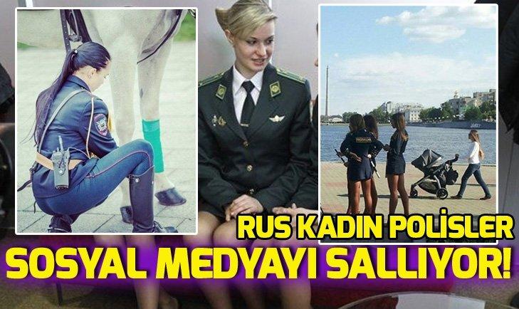 RUSYA'NIN FENOMEN KADIN POLİSLERİ
