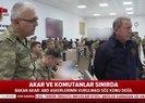 Son dakika: Milli Savunma Bakanı Akar 'Barış Pınarı' harekat merkezinde |Video