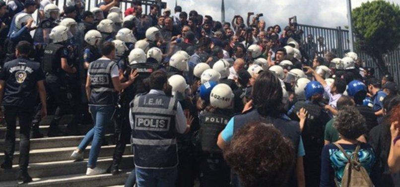 HDP'LİLER POLİSE SALDIRDI