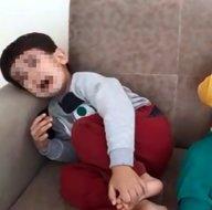 Kocası terk etti intikamını çocuklarından aldı