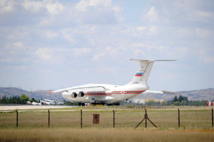 Uçaklar peş peşe indi S-400'ler Ankara'ya böyle geldi!