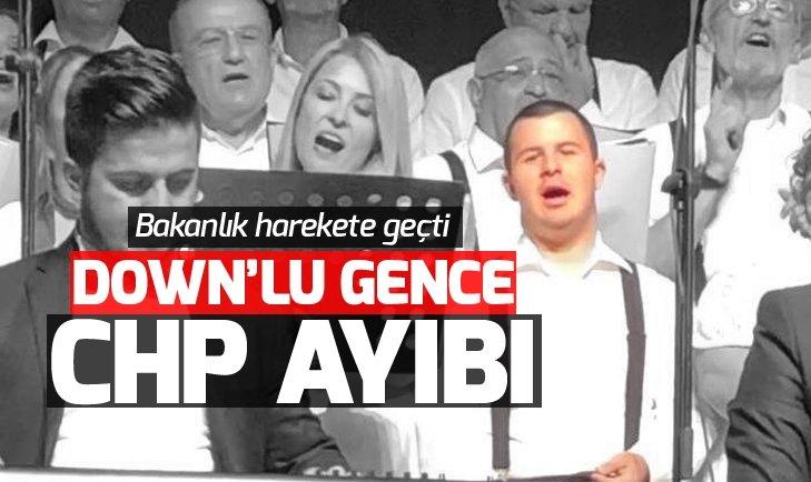 DOWN'LU GENCE CHP AYIBI! BAKANLIK HAREKETE GEÇTİ...
