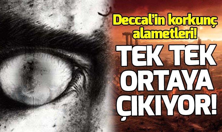 TEK TEK ORTAYA ÇIKIYOR! DECCAL'IN ALAMETLERİ...