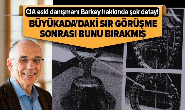 CIA ESKİ DANIŞMANI BARKEY HAKKINDA ŞOK DETAY!