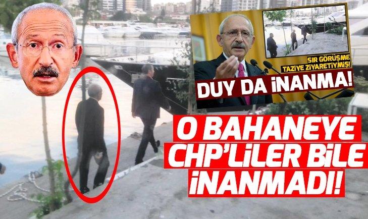 Kılıçdaroğlu'nun lüks yattaki 'taziye ziyaretine' CHP'liler bile inanmadı