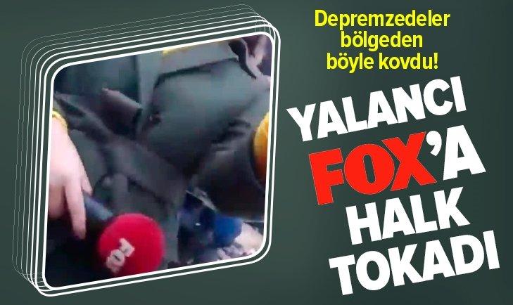 YALANCI FOX'A DEPREMZEDELERDEN TEPKİ!