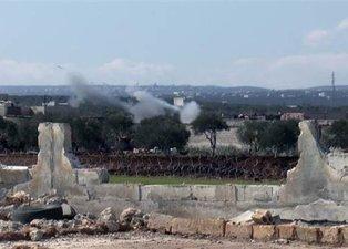 İdlib'de hareketlilik, tanklar ve komandolar intikale başladı! Peş peşe atış yapılıyor