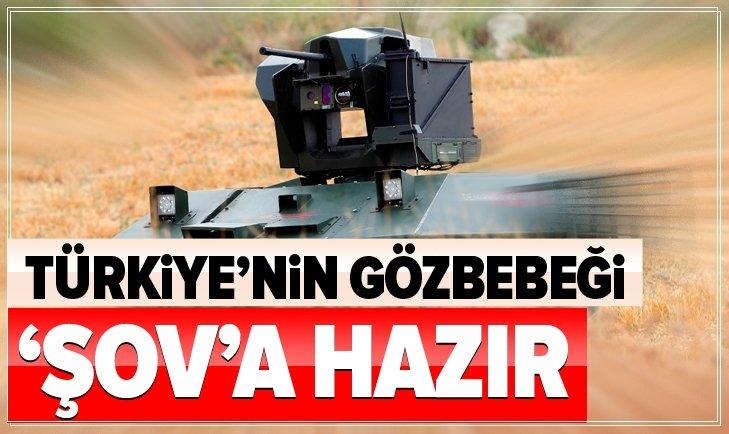 TÜRKİYE'NİN GÖZBEBEĞİ 'ŞOV'A HAZIR