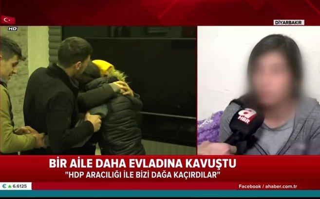 Ailesinin feryadı üzerine PKK'dan kaçan Pelda Ayhan yaşadıklarını A Haber'e anlattı
