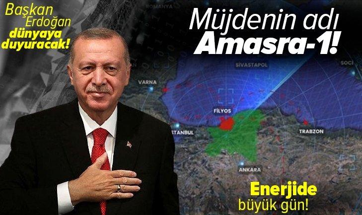 Enerjide büyük gün! Müjdenin adı Amasra-1! Başkan Erdoğan açıklayacak