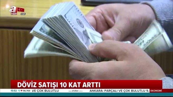 Vatandaşlardan dolar hamlesi