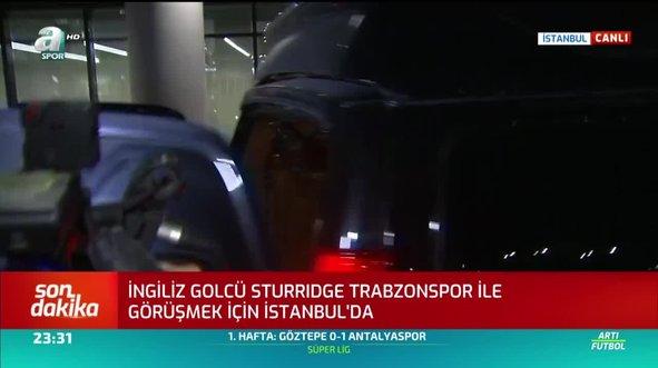 Yıldız futbolcu Trabzonspor için İstanbul'a geldi