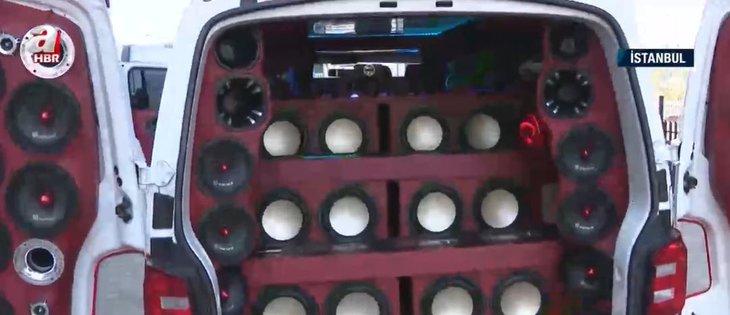 Fardaki ayrıntı görenleri şaşkına çevirdi! İşte otomobil görünümlü ses bombaları