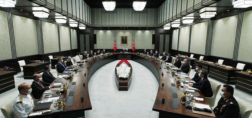 KÜLLİYE'DE MGK TOPLANTISI SONA ERDİ