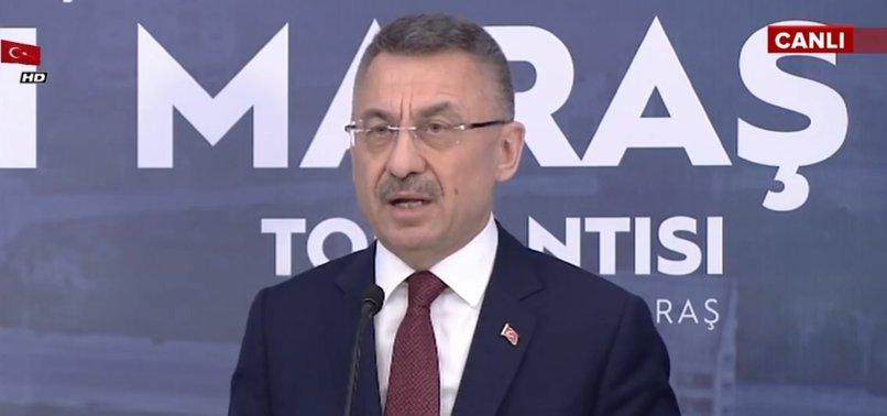 """CUMHURBAŞKANI OKTAY'DAN """"KAPALI MARAŞ"""" AÇIKLAMASI!"""