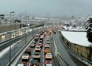 Son dakika: İstanbulda haftanın ilk iş gününde trafikte son durum