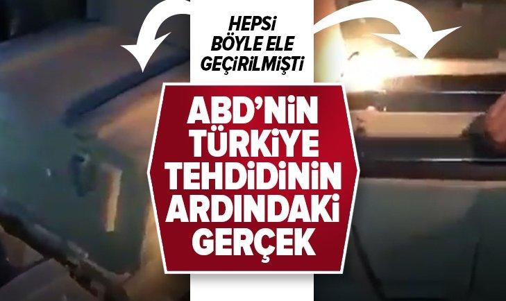 Hepsi böyle ele geçirilmişti! ABD'nin Türkiye tehdidinin ardındaki gerçek