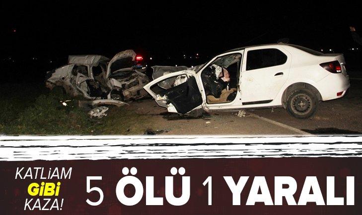 SON DAKİKA YAŞAM HABERİ | Şanlıurfa'da katliam gibi kaza: 5 ölü 1 yaralı