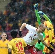 Galatasaray - Kayserispor maçından kareler