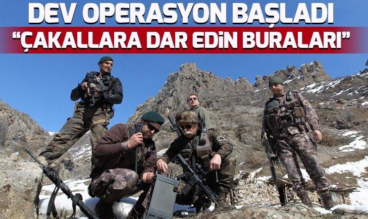 PKK'YA DEV OPERASYON! ÇAKALLARA DAR EDİN BURALARI