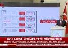 Milli Eğitim Bakanı Ziya Selçuk canlı yayında açıkladı! Okullara yeni tatil düzeni geliyor | Video