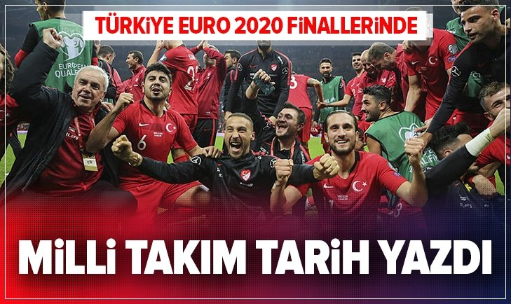 Türkiye EURO 2020'de...