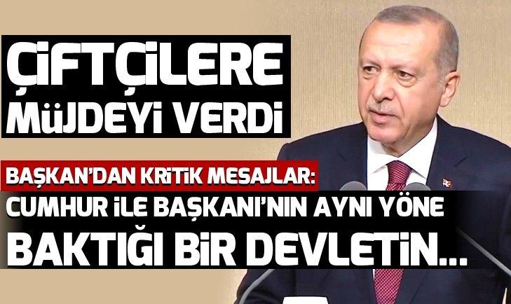 Son dakika: Başkan Erdoğan'dan kritik açıklamalar