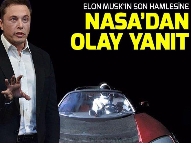 NASA'DAN ELON MUSK AÇIKLAMASI