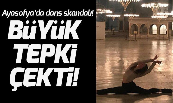 LEYLA ALATON'DAN SKANDAL AYASOFYA'DA DANS PROVOKASYONU