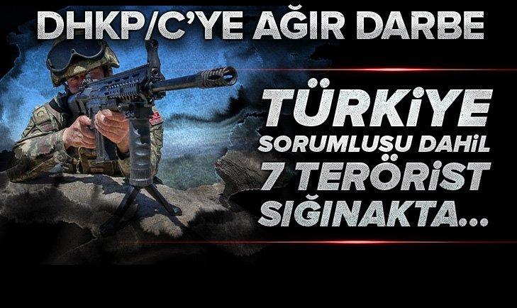Son dakika: DHKP/C'ye ağır darbe: Türkiye sorumlusu dahil 7 terörist...