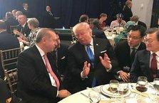 Erdoğan ile Trump arasında samimi sohbet