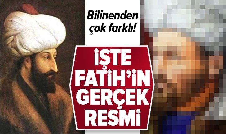 İŞTE FATİH SULTAN MEHMET'İN GERÇEK RESMİ! ÇOK ŞAŞIRACAKSINIZ!
