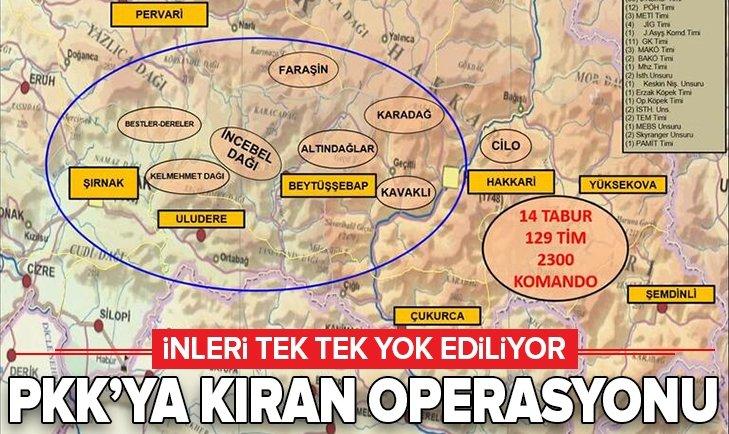 PKK'YA 'KIRAN' OPERASYONU!