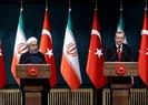 Recep Tayyip Erdoğan ve Hasan Ruhani'den flaş açıklamalar