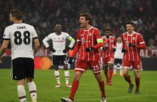 Beşiktaş, Bayern Münih karşısında farklı mağlup oldu