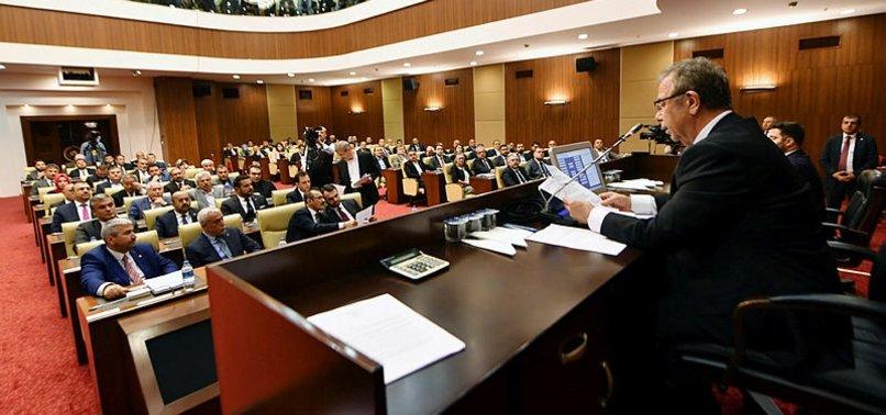 ANKARA'DA MANSUR YAVAŞ 'ŞEFFAF DENETİM' İSTEMEDİ
