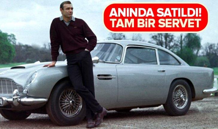 DÜNYACA ÜNLÜ OTOMOBİLE BİR SERVET!