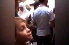 Filistinli küçük bir kız çocuğu meydan okuyor!