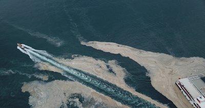 Marmara'da ne kadar müsilaj temizlendi? Çalışmalardan yeni görüntüler paylaşıldı
