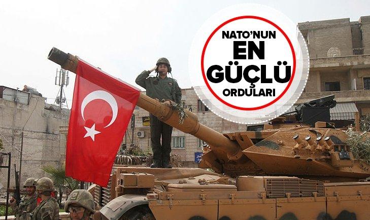 TÜRKİYE NATO'NUN EN GÜÇLÜ ÜLKELERİ ARASINDA! İŞTE LİSTE!