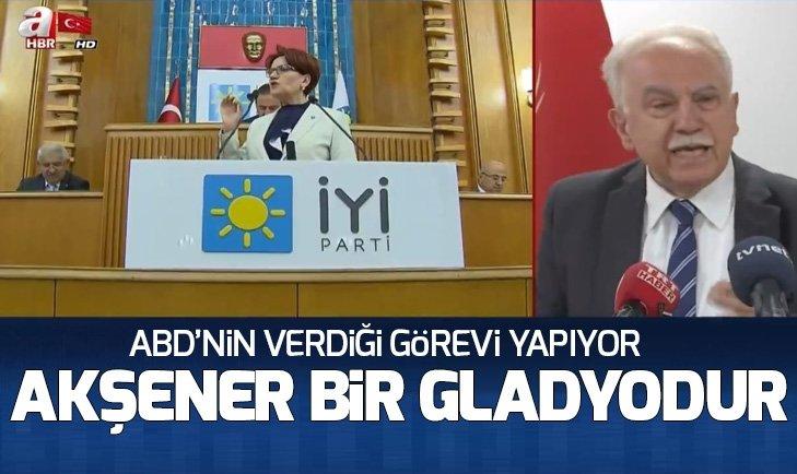 Doğu Perinçek: Akşener'in hem FETÖ hem de PKK ile ilişkisi ispatlandı