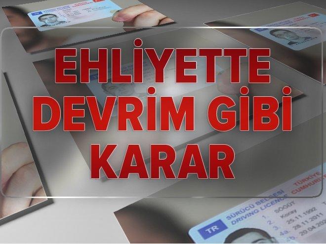 EHLİYETTE E-SINAV DÖNEMİ BAŞLADI