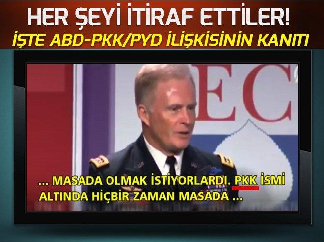 İŞTE ABD-PKK/YPG İLİŞKİSİNİN KANITI