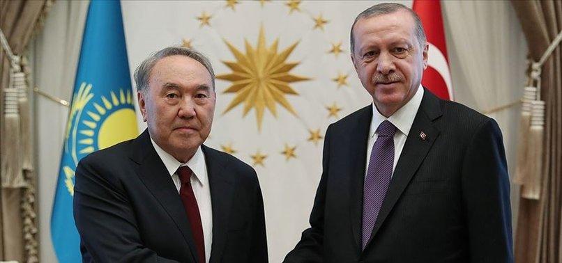 Son dakika: Başkan Erdoğan Nazarbayev ile görüştü