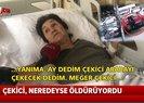 İstanbul'da çekiciden düşerek ağır yaralanan yaşlı kadın o anları anlattı