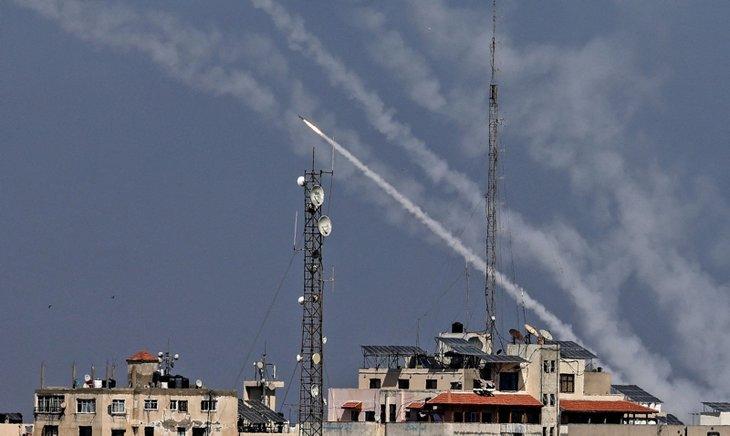 Son dakika | Hamas'tan terörist İsrail'e sert yanıt! 130 roketle saldırı düzenledi