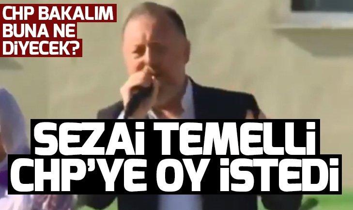 HDP EŞ GENELBAŞKANI SEZAİ TEMELLİ CHP'YE OY İSTEDİ