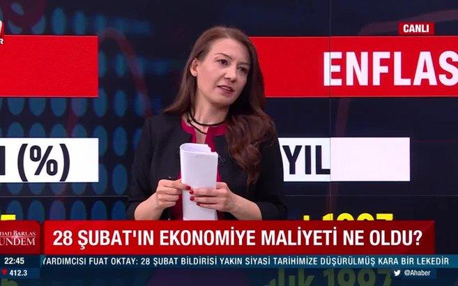 İşte 28 Şubat'ın ekonomiye verdiği büyük zararlar! Sabah Gazetesi Ekonomi Müdürü Güngör aktardı